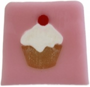Cherry Cupcake Trendy Soap